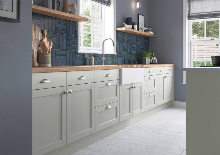St Mellion Signature Kitchen Range in Light Grey Colour Scheme
